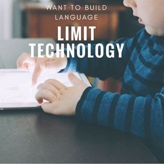 Want to build language? Limit Technology